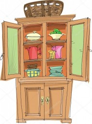 ​ A Kitchen Cupboard